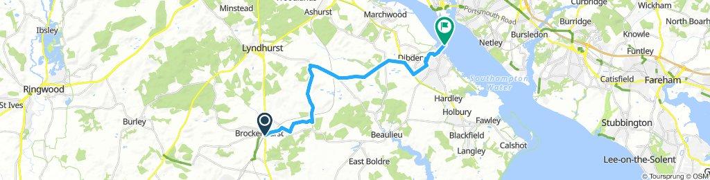 New Forest -  Brockenhurst to Hythe