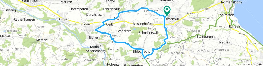 Spred Out Freitag Route In