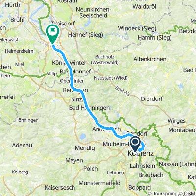 #16 Koblenz to Bonn