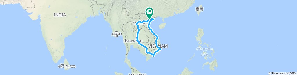 Southeast Asia Bike Tour