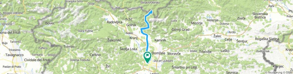 Ljubljana - Jezersko (in nazaj)