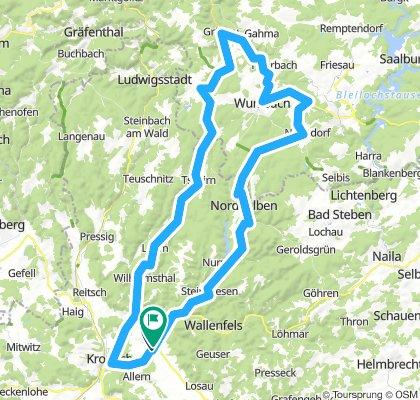 Sormitztal - Lehesten - Brennersgrün