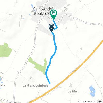 Enzo - Nicolas - Samedi Route In Saint-André-Goule-D'oie