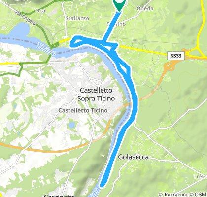 Moderate Saturday Track In Sesto Calende