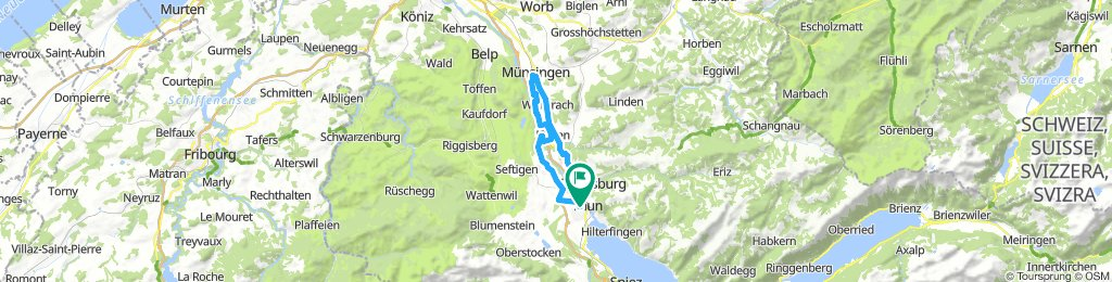 Thun - Münsingen - Thun