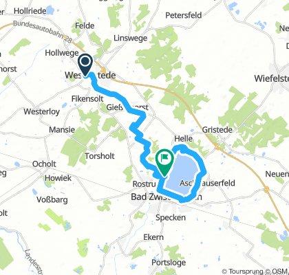 Westerstede - Bad Zwischenahn und zurück