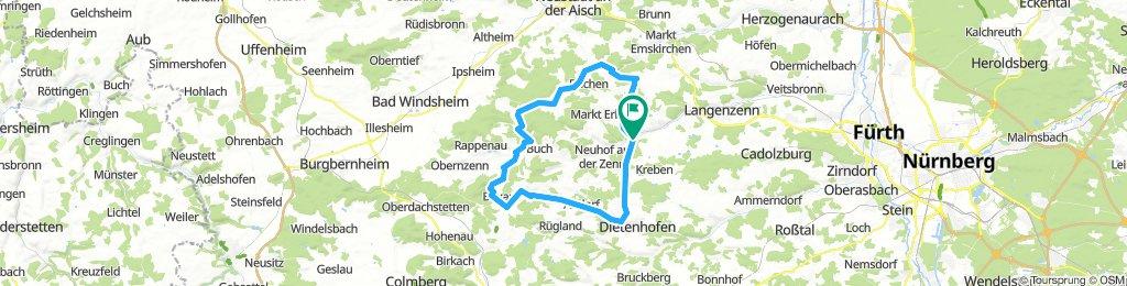 Adeldorf bei  Langenzenn