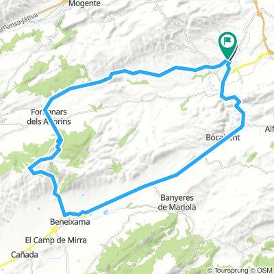 Vuelta a El Moro (Beneixama - Fontanars )