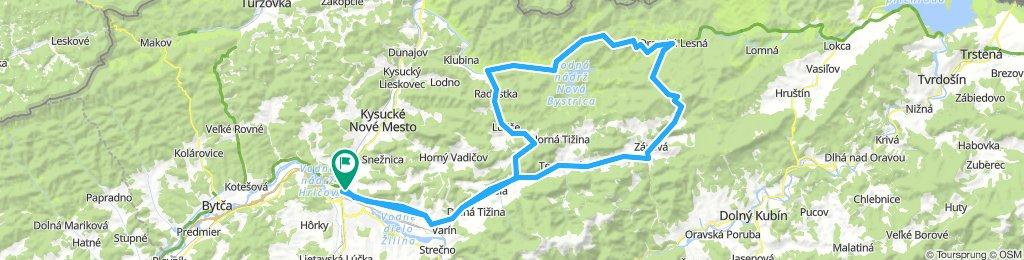 Žilina - Oravska Lesná - Zázriva - Terchová