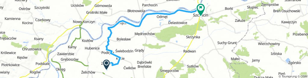 Zalipie -Szczucin- 30 km