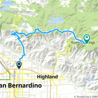 San Bernardino to Running Springs
