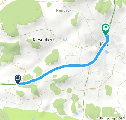 Relaxed Sonntag Track In Dieterskirchen