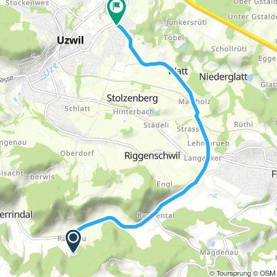 Lengthy Sonntag Track In Lütisburg