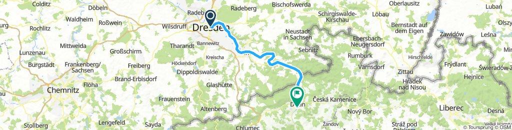 A Czech day 1 Dresden to Decin