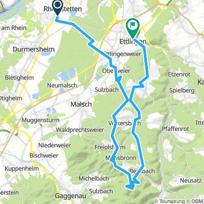 MTB-Tour: Mahlberturm und Bernsteinfels