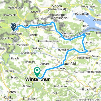 Nach Winterthur