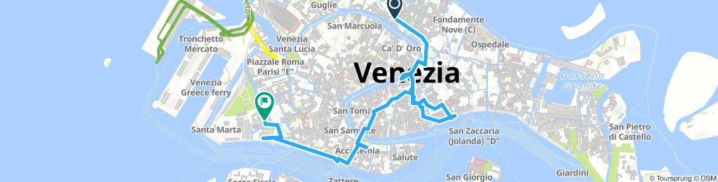 Venice, no bike