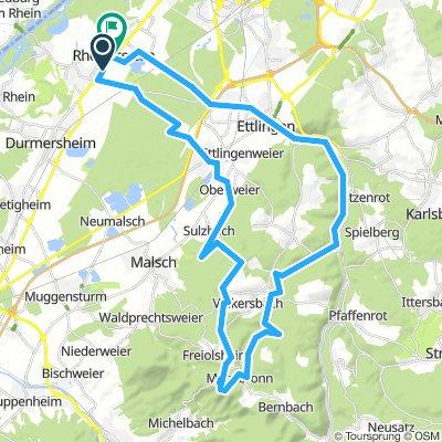 MTB-Tour: Mahlberturm Runde