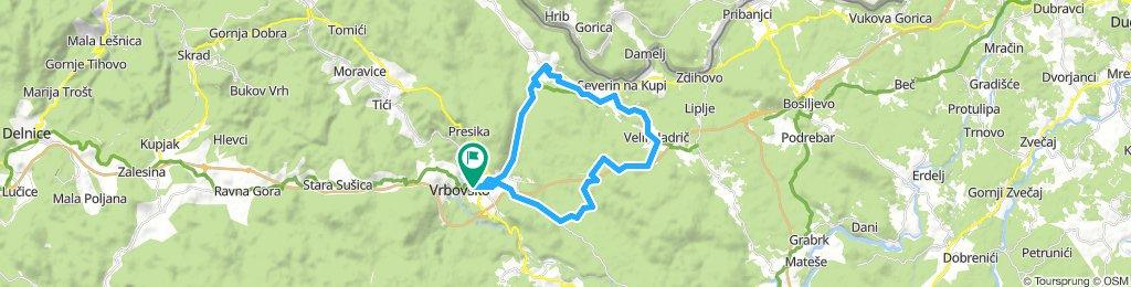 Vrbovsko - Severin na Kupi, Lukovdol