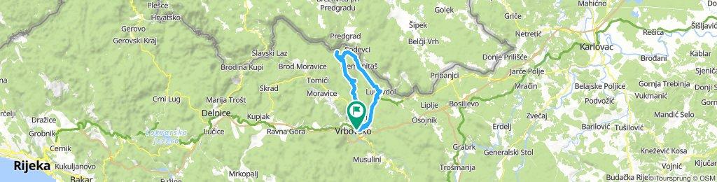 Vrbovsko - Orlove stijene
