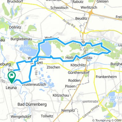 Leuna - Salzradweg - Elsterradweg