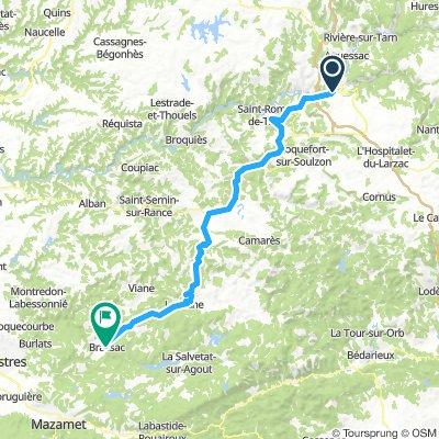 Day 6::: 2nd part – Millau to Brassac - Stage 15