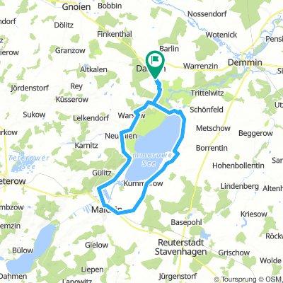 Dargun Um Kummerower See 56 km