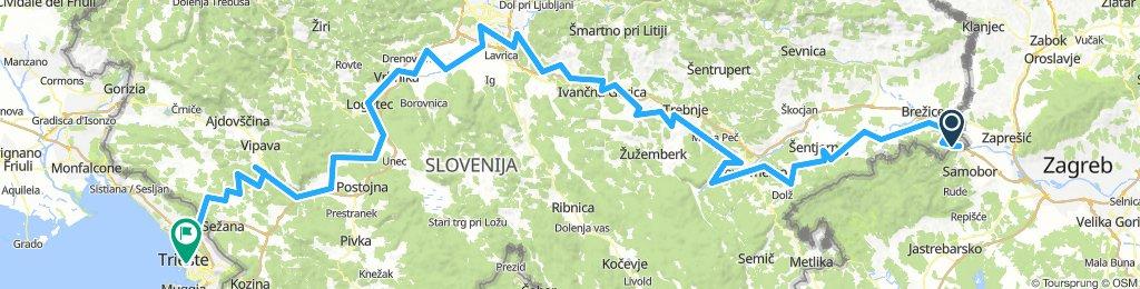 Jakobova kolesarska pot po Sloveniji