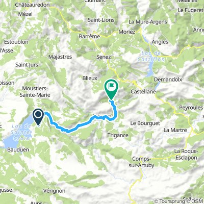 Camping Castellane 1 (le Verdon)