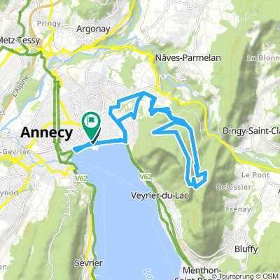 Mont Baron above Annecy