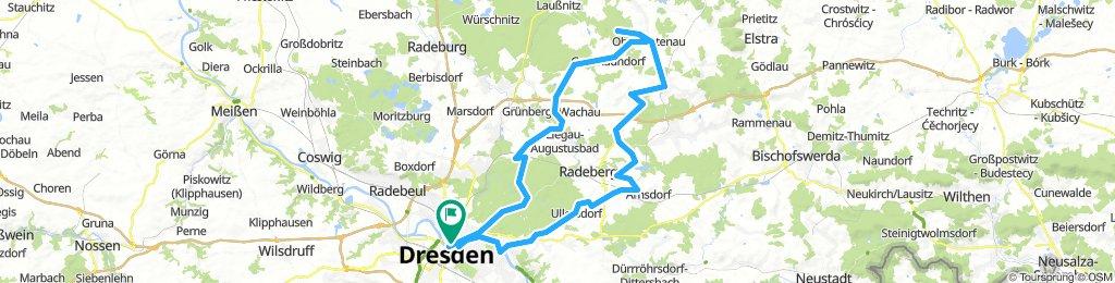 Von DD zum Keulenberg u. zurück