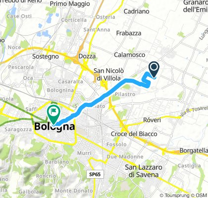Easy Mercoledì Route In Bologna