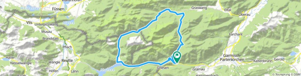 Grainau -Plansee-Linderhof