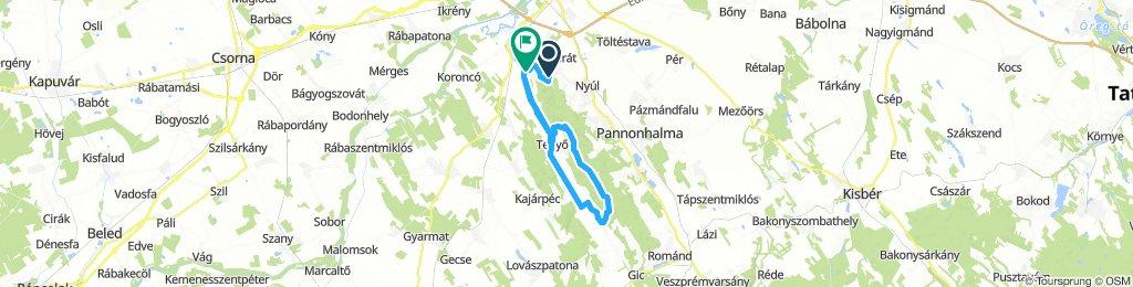 Snail-Like Mittwoch Course In Győrújbarát
