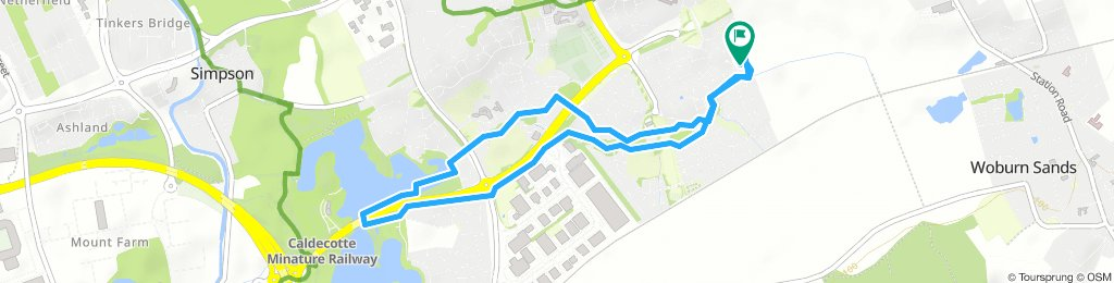 Slow Wednesday Track In Milton Keynes