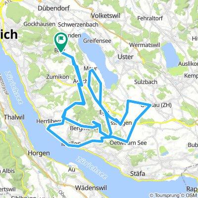 Guldenen- Pfannenstiel 68.2km 1130HM