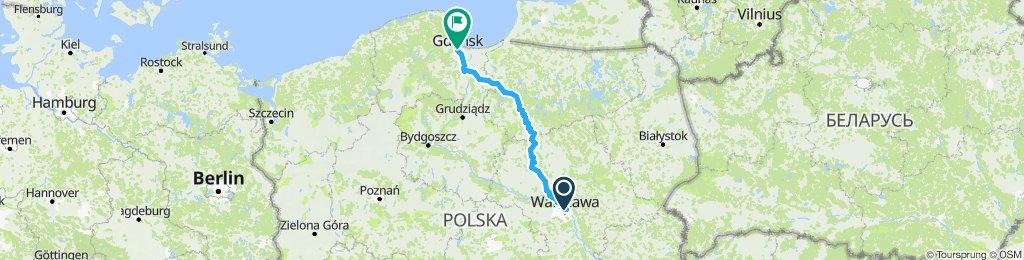 Warszawa - Gdańsk