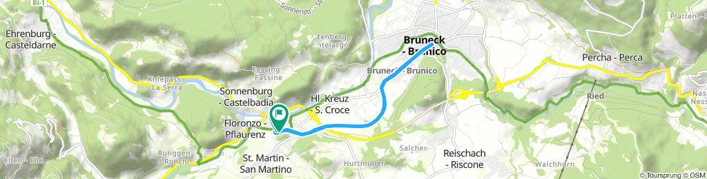 St. Lorenzen-Bruneck-St. Lorenzen, 10.06.2018
