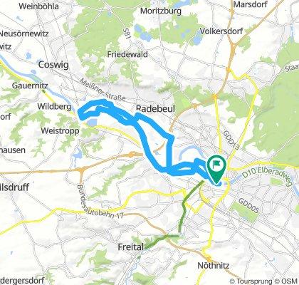 AOK Plus-Tour über 30 km (15. SZ-Fahrradfest)