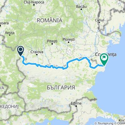 Route for Ride (Dunav ultra)