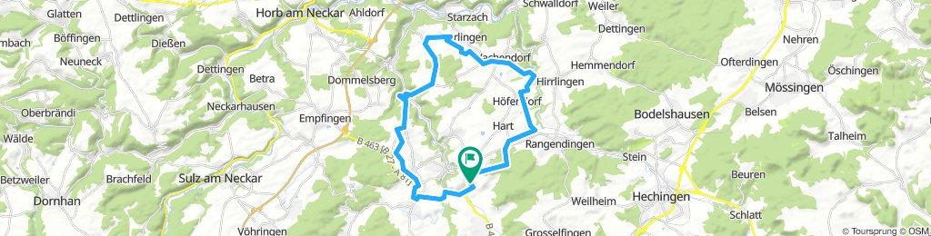 Stetten -Höfendorf-Imnau-Bittelbronn- Stetten