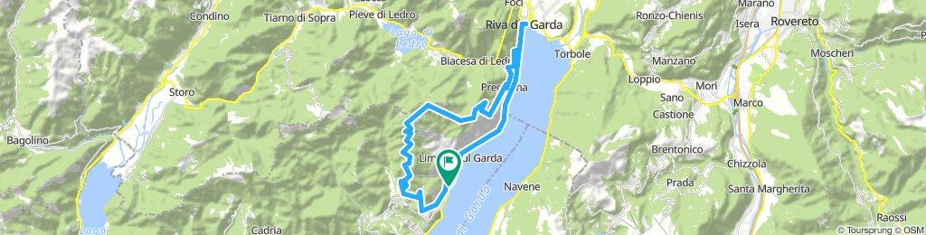 Limone - Riva - Vecchia 48km 1600hm