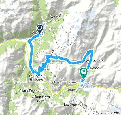 Alpe d'Huez + col de Saronne