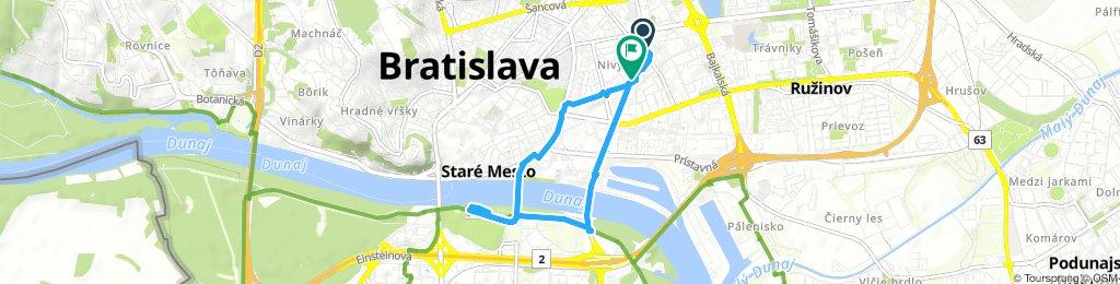 Extensive Friday Ride In Bratislava