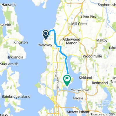 Cycling routes and bike maps in and around Edmonds | Bikemap - Your on