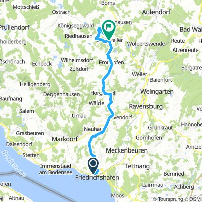 FN - Ebenweiler + Tri Strecke