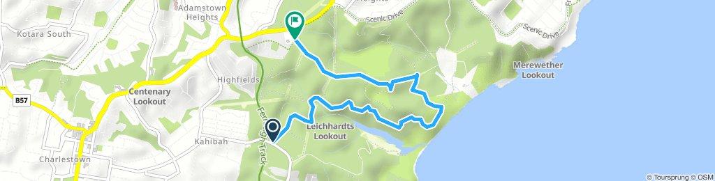 Glenrock loop - Bikemap