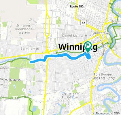 Lengthy Friday Track In Winnipeg