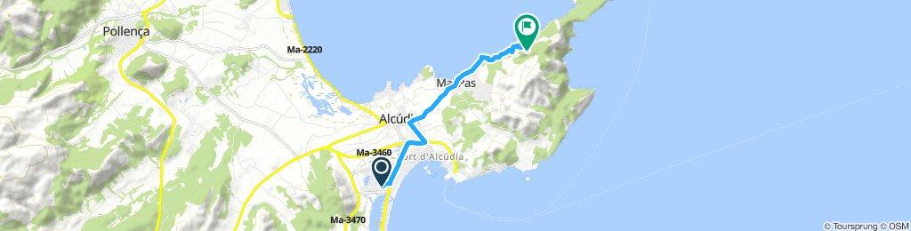 Lengthy Saturday Track In Alcúdia