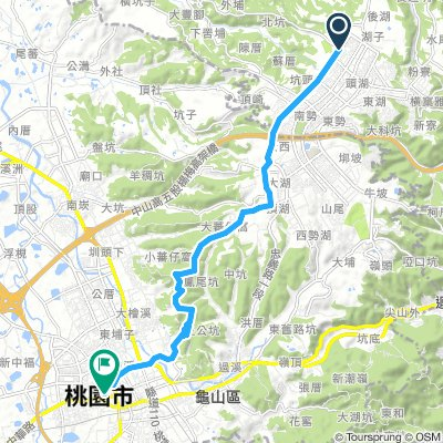 Extensive 星期六 Route In 林口區